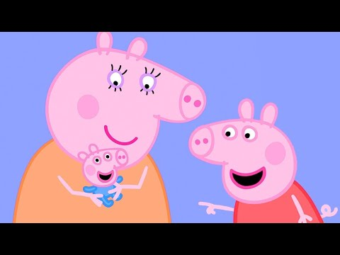 Peppa Pig Official Channel | Baby George Pig At The Olden Days