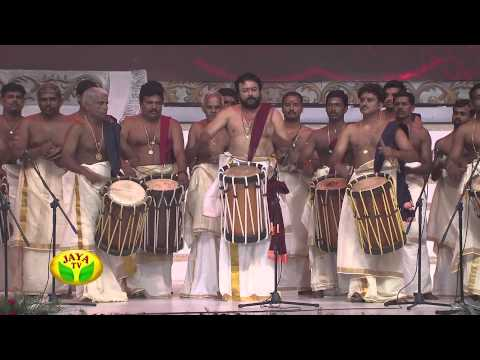 Astonishing Chandai Melam Performance Of Actor Padmashree Ja
