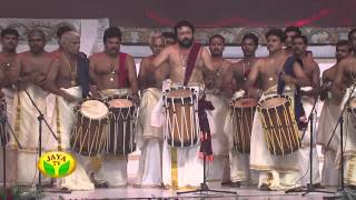 Astonishing Chandai Melam Performance Of Actor Padmashree Jayaram by Jaya Tv
