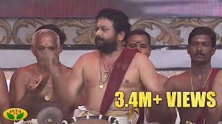 Astonishing Chandai Melam Performance Of Actor Padmashree Jayaram by Jaya Tv