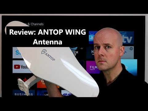 Review: ANTOP WING Omni-Directional UHF/VHF Antenna For Cord Cutters
