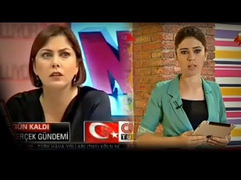 Canlı Yayınlarda Deprem Anı (Türkiye TV Kanalları + Azerbaycan TV Kanalı)