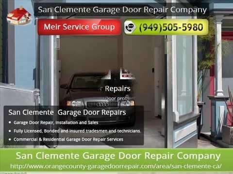 garage door repair san clemente ca installation
