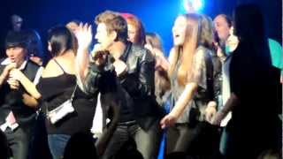 """Backstreet Boys. """"If I Knew Then"""" Dance party with fans. Foxwoods, CT. 12-28-12"""