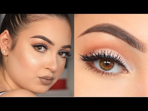 SOFT CUT CREASE TUTORIAL | MAKEUPARTISTFADIM