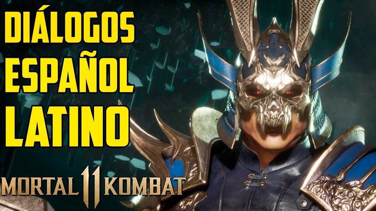 Mortal Kombat 11 | Español Latino | Todos los Diálogos | Shao Kahn | Xbox One |