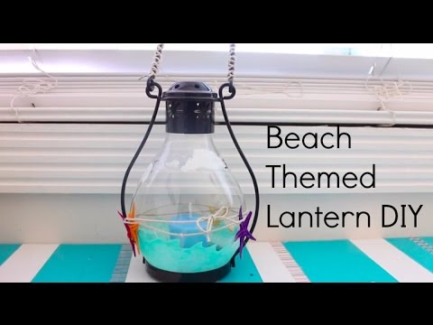 Gift Ideasummer Diy Ocean Themed Lanterncandle Holder Decoration