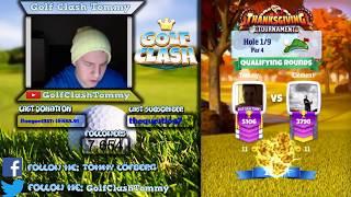 Golf Clash LIVESTREAM, Qualifying round, Thanksgiving tournament - MASTERS