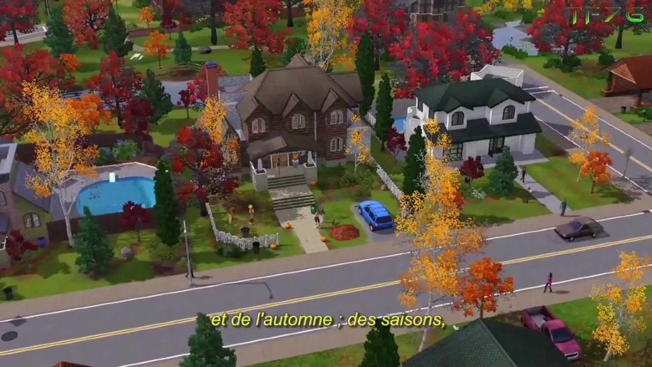 les sims 3 saisons guide des producteurs hd youtube. Black Bedroom Furniture Sets. Home Design Ideas