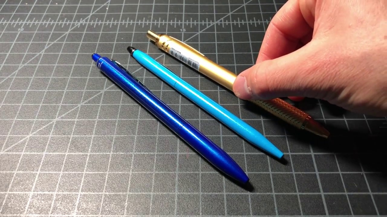 Click Midnight Blue Ballpoint Pen with Slim Gel Refill by Cross 1