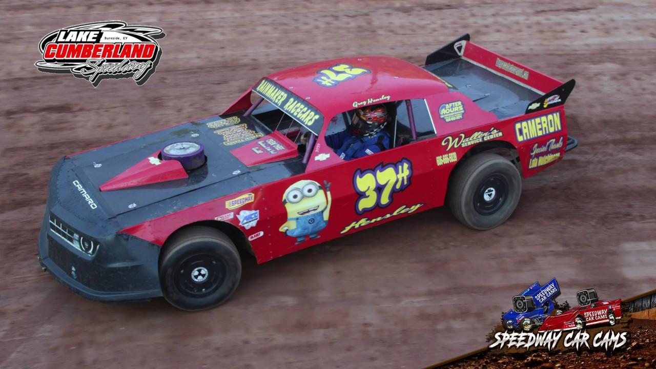 #37H Greg Hensley - Heat Race - Street - 10-6-18 Lake Cumberland Speedway - In Car Camera