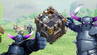 PEKKA en el castillo para ganar | ¡Defensa! | Descubriendo Clash of Clans