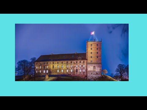 The historic city of Kolding (Denmark) and its castle