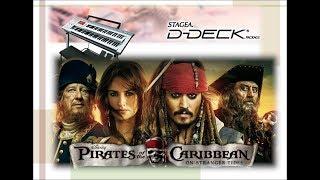 ♪伴奏♪パイレーツ・オブ・カリビアン(決戦〜彼こそが海賊)YAMAHA D-DECK