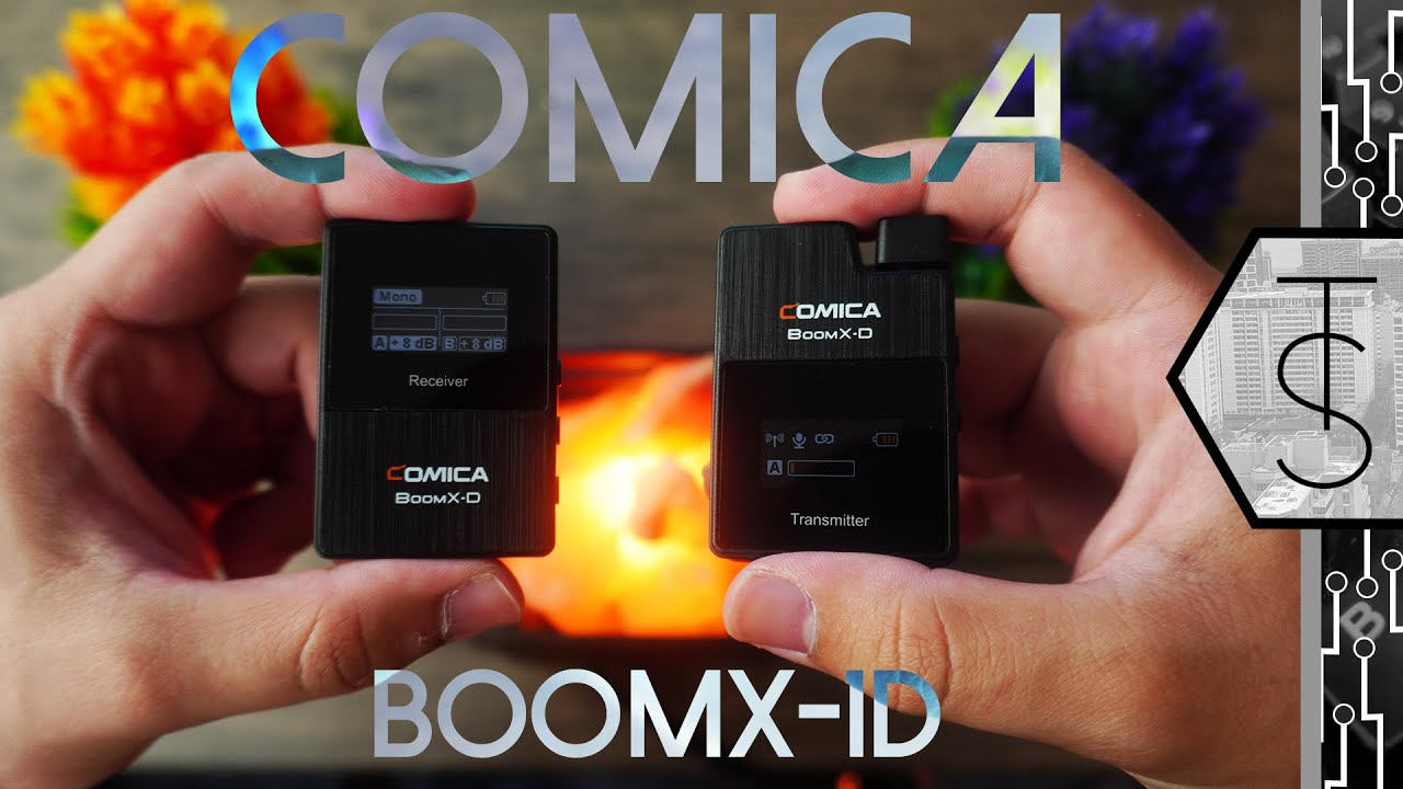 Comica BoomX-D1 Review | Why You Should Get A Wireless Mic For Your YouTube and Vlogging in 2020!