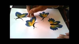 How To Paint  Beautiful Butterflies Just In Few Strokes