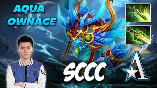 Aster Sccc AQUA OWNAGE - Dota 2 Pro Gameplay [Watch & Learn]