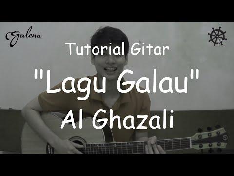 5 MENIT Belajar Gitar (Lagu Galau - Al Ghazali) + TAB
