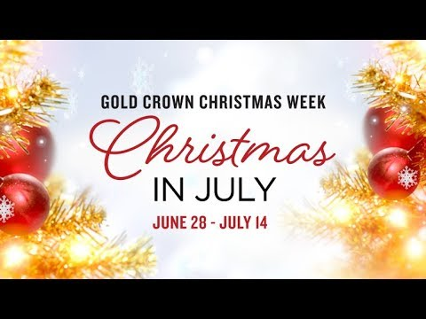 Christmas In July.Preview Christmas In July Gold Crown Christmas Week Hallmark Movies Mysteries