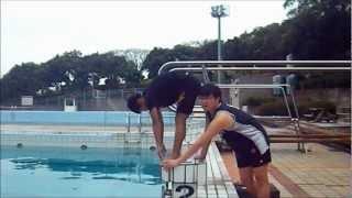 潛跳式入水 游泳比賽出發