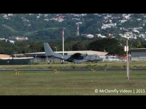 Arrivée du 1er Casa CN-235 à La Réunion [HD]