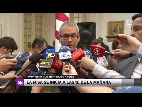 Amplían horarios de misas del Papa en Chile - Ahora Noticias Tarde/ 8 de enero 2018