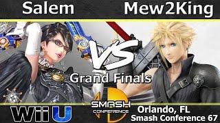 Ct salem (bayonetta) Vs. Fox Mvg mew2king (cloud) Wii U Grand Finals Sc:67