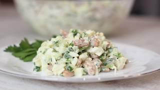 Необыкновенно Вкусный Салат из Простых Ингредиентов на Скорую Руку!