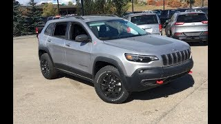 2019 Jeep Cherokee Trailhawk 4X4 | Active ParkSense | Edmonton | 19JC87920 | Crosstown Chrysler