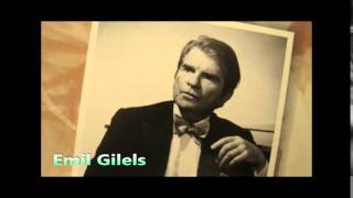 """GILELS, Beethoven Piano Sonata No.26 Es-dur op.81a """"Les Adieux"""""""