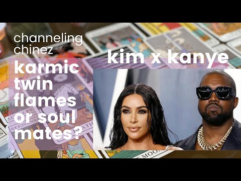 KIM KARDASHIAN X KANYE WEST | TWIN FLAMES KARMIC RELATIONSHIP TAROT READING | Channeling Chinez