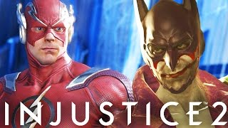 Injustice 2: The Joker, The Flash, Firestorm & Captain Cold Combos! (Injustice 2 Combo Video)