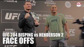 UFC 204 Media-scrums Face-offs