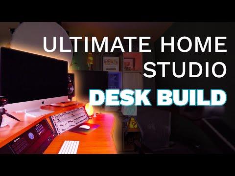 Ultimate Home Studio Desk Build