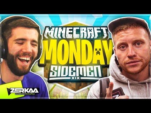 MINECRAFT MONDAY $10,000 TOURNAMENT (WEEK 13) 🔴 (Zerkaa & Behzinga - SIDEMEN Team)