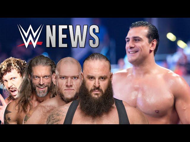 Les News WWE De La Semaine: Alberto Del Rio Évite La PRISON?
