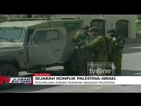 Inilah Sejarah Konflik Palestina-Israel