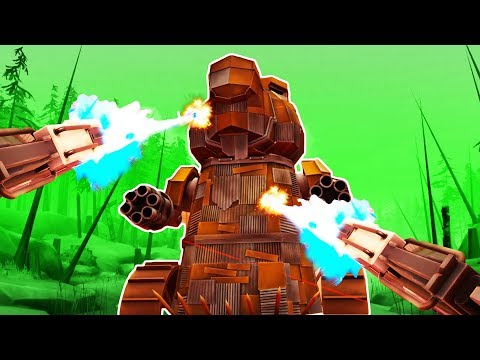 I DESTROYED a GIANT ROBOT BEAVER with LASERS in Dick Wilde 2 VR! |