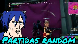 partidas random con benjamin pv / fortnite