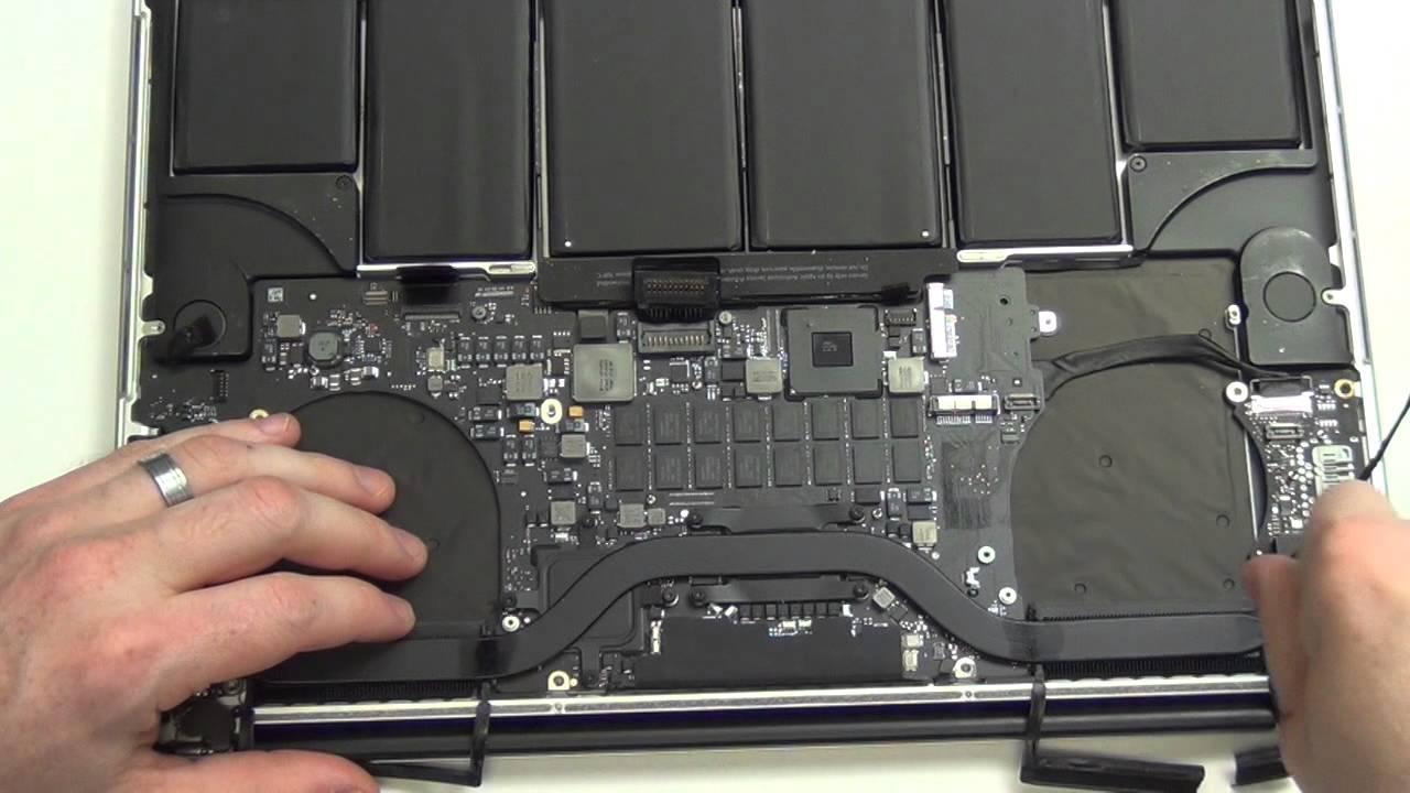 """Fan Apple MacBook Pro 13/"""" 2015 Insides ! Flex Cables// Wifi// Screws Io Board"""