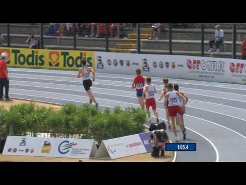 Men's 800 m  T20 | semi2 | 2016 IPC Athletics European Championships Grosseto
