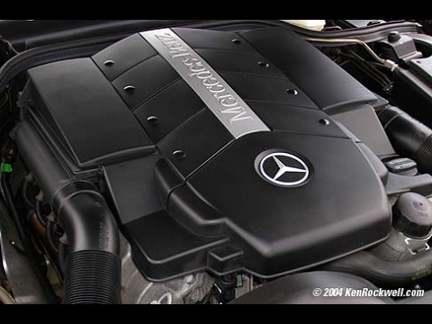 Replacing thermostat mercedes benz youtube for Mercedes benz thermostat