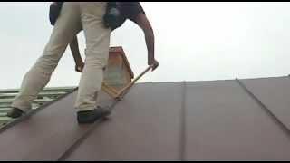 Dach na podwójny rąbek stojący