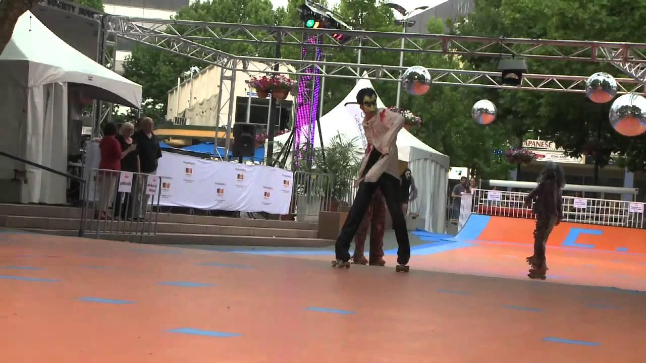 Roller skating rink canberra - Roller Skate In The City Mp4