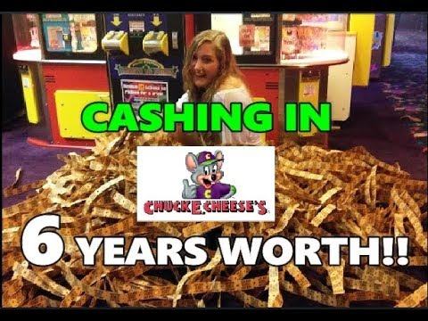 Kobi - Father Cashes In 6 Years Worth Of Chuck E Cheese Tickets!