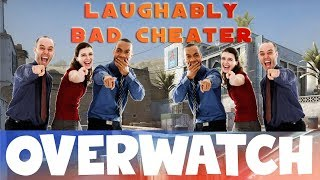 This Cheater is so bad its FUNNY! CS:GO OVERWATCH