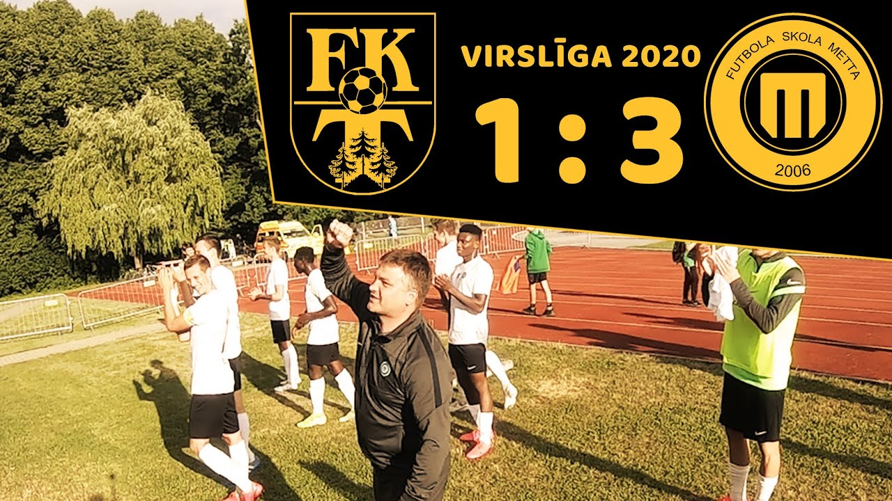 PPK Virslīgā. FK Tukums 2000/TSS -  FK Metta 1:3