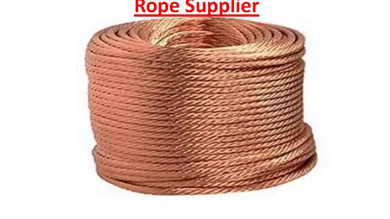 Stranded Flexible Copper Wire Rope Supplier - YouTube