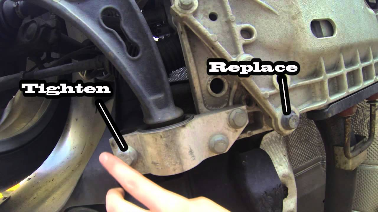mk4 jetta rear suspension noise