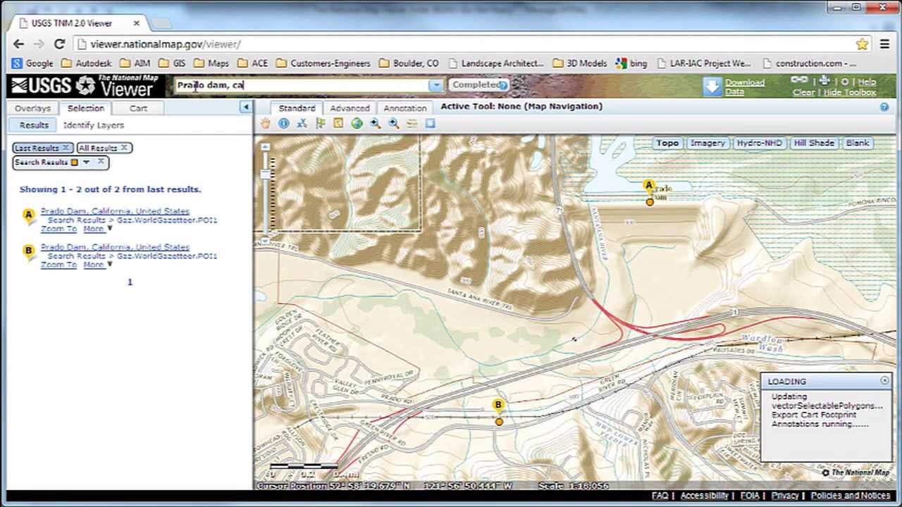 Download Data from USGS The National Map Viewer for use in Autodesk ...